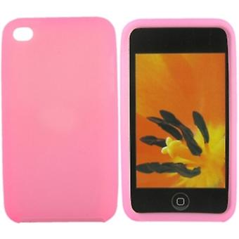 Siliconen case-iPod Touch 4 (roze)