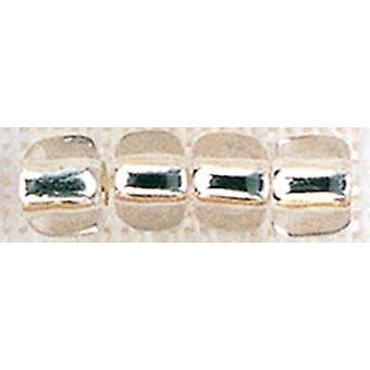 Mill Hill Glass Pebble Beads 5.5mm 30/Pkg-Clear PBB-05021