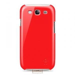 Belkin Snap Shield Cover F8M402cwC05 Samsung Galaxy S3 i9300 Red