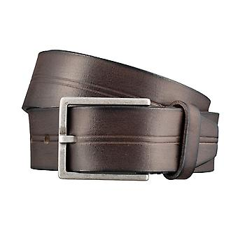 BRAX belts men's belts leather belt dark brown 3048