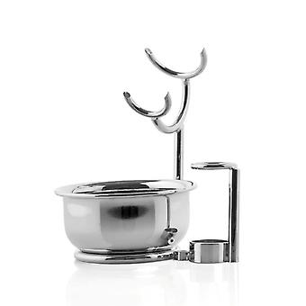 Mondial Razor & Brush Stand With Bowl