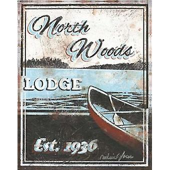 Nordholz Lodge Poster Print von Catherine Jones