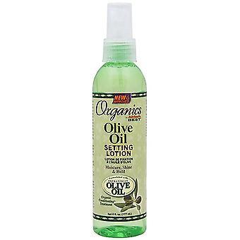 Meilleure huile d'Olive bio Setting Lotion de l'Afrique 6oz