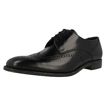 Mens Loake Polished Leather Brogues Bogart