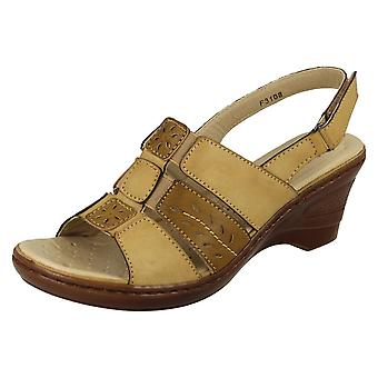 Ladies Eaze Casual Sling Back Sandals F3108