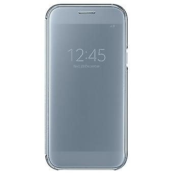 Samsung clear view wallet pouch cover EF ZA520 for Galaxy A5 A520F 2017 blue