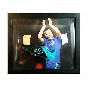 Chelsea Terry Signed Boot (Framed)