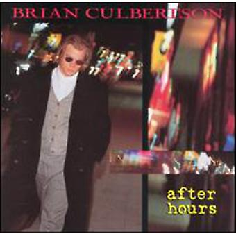 Brian Culbertson - efter timer [CD] USA import