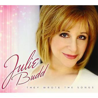 Julie Budd - importieren sie schrieb die Songs [CD]-USA