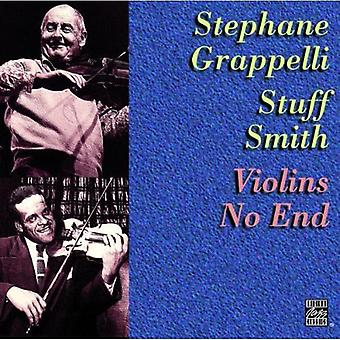 Grappelli/Smith - Violin No End [CD] USA import