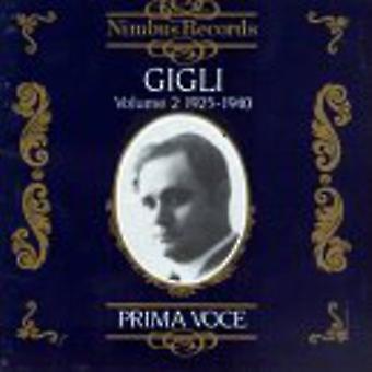 Beniamino Gigli - Beniamino Gigli, Vol. 2 [CD] USA import