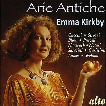 Emma Kirkby Anthony Rooley - Arie Antiche [CD] USA import
