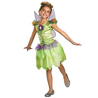 Tinker Bell Tinkerbell Fairy Pixie Fairytale Disney Girls Costume