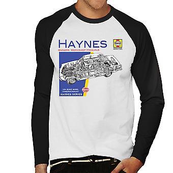 Baseball do Haynes proprietários Workshop Manual 0034 Rover 2200 homens t-shirt de mangas compridas