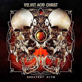 Velvet Acid Christ - Greatest Hits [CD] USA import