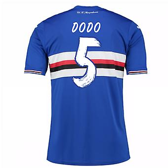 2016 / 17 Sampdoria Home Shirt (Dodo 5) - Kinder