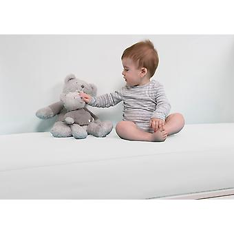 B-sensible BSensible Baby Waterproof breathable fitted crib sheet 60x120 White