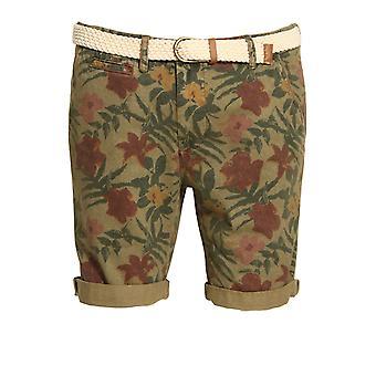 Bellfield Bulmer Floral Camo Shorts