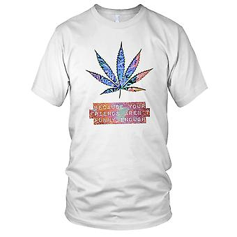 Hash Marijuana - DJ Beach Ibiza Party Surfer Mens T Shirt