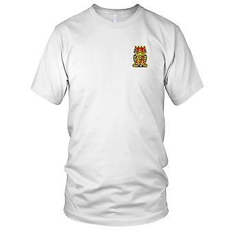 US Army - 14th Infantry Regiment Embroidered Patch - The Right Of The Line Kids T Shirt