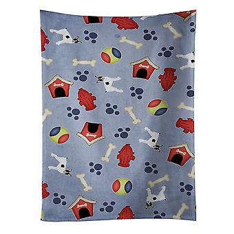 Dog House Collection Toy Fox Terrier Kitchen Towel