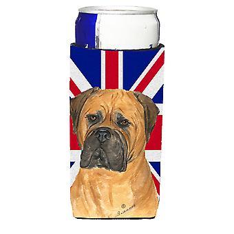 بولماستيف مع عوازل المشروبات الترا العلم البريطاني جاك الاتحاد الإنكليزي ل s