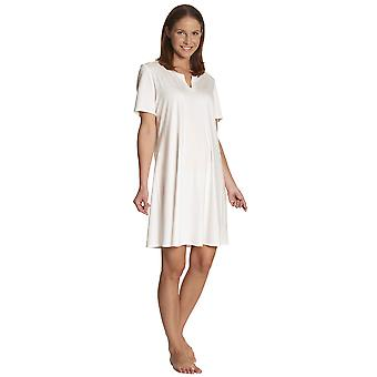 Feraud 3883133-10044 vrouwen Champagne White Night Gown Lounge Pyama