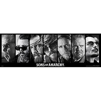 Sons of Anarchy - Reaper Crew affiche Poster Print