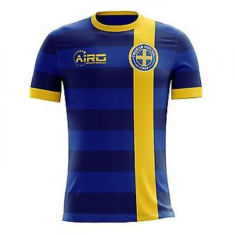 2018-2019 Sweden Away Concept Football Shirt (Kids)