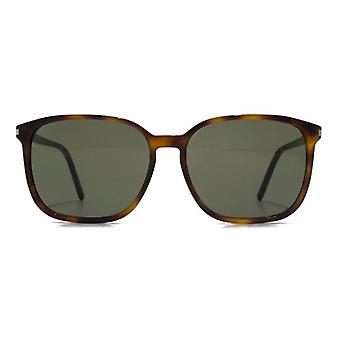 Saint Laurent SL 37 Sunglasses In Havana