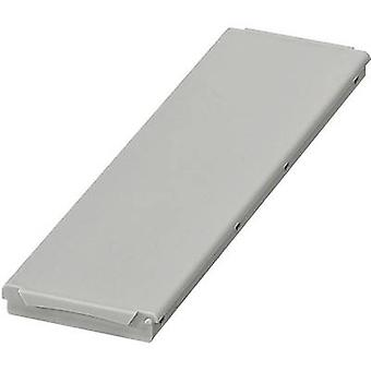 DIN rail casing (lid) 45 x 161.6 x 8 Polycarbonate (PC) Light