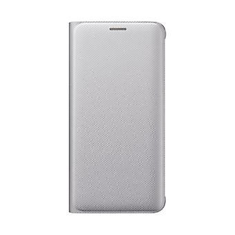 Samsung Flip Wallet to Galaxy S6 Edge Plus Silver Colored