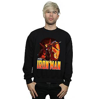 Avengers Men's Infinity War Iron Man Character Sweatshirt