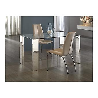 Schuller Malibu Dining Table, Steel