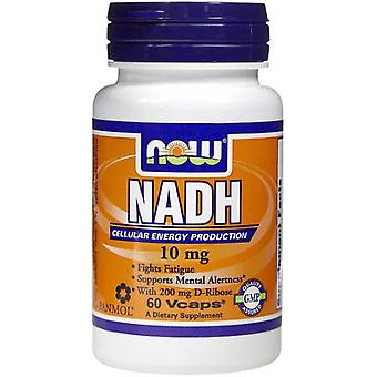 Now Foods Nadh 10Mg 60 Veggie Capsules