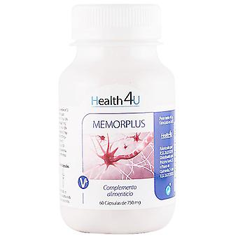 Health 4U Memorplus 60 capsulas de 750 mg (Vitamins & supplements , Special supplements)