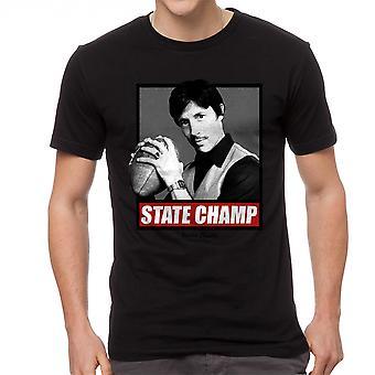 Napoleon Dynamite State Champ Box Men's Black Funny T-shirt
