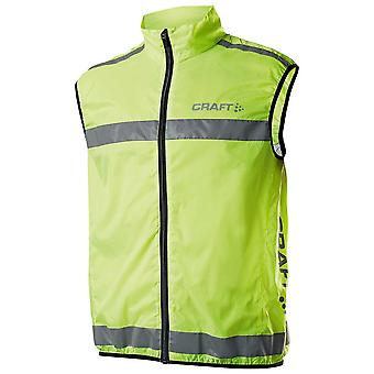 Craft Mens Active Hi Viz Running Safety Vest