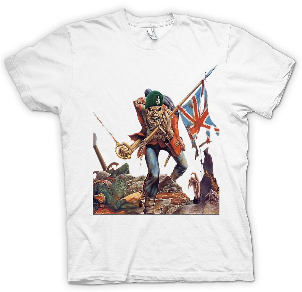 Womens T-shirt - The Trooper - Royal Marine Eddie