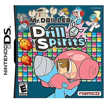 M. foreur Drill Spirits (Nintendo DS)