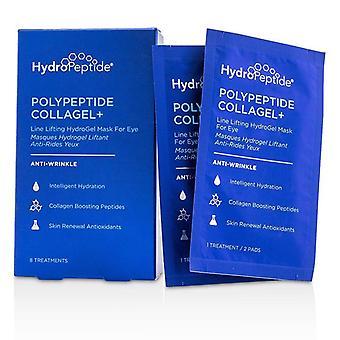 Hydropeptide polypeptid Collagel + linje løfte Hydrogel maske For øje - 8 behandlinger