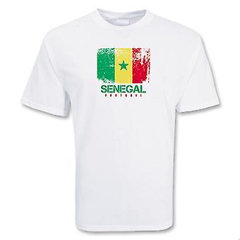Senegal-Fußball-T-Shirt