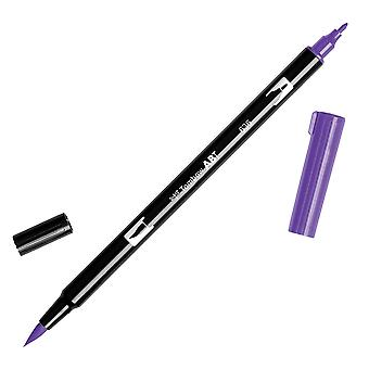 Tombow Dual Brush Marker Open Stock-636 Imperial Purple