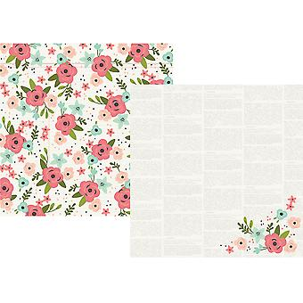 Bloom Double-Sided Cardstock 12