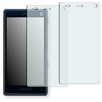Fairphone 2 screen protector - Golebo crystal clear protection film