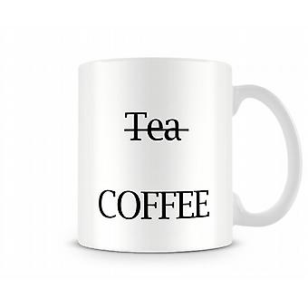 Tea Coffee Printed Mug