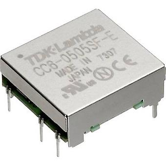 TDK-Lambda CC-6-1205SF-E DC/DC converter (print) 12 Vdc 5 Vdc 1.2 A 6 W No. of outputs: 1 x
