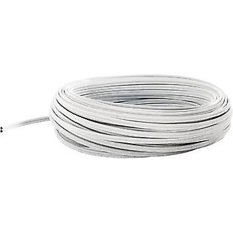 POF cable 980/1000 µ Simplex White fuba WebFiber WFL 500 50 m