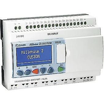 Regulador del PLC Crouzet Millenium 3 Smart XD26 S 88974162 24 Vdc