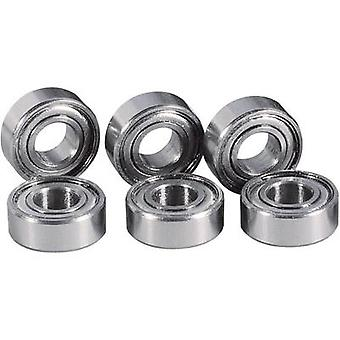 Tuning part Reely 4X 295620 + 4X 295655 Touring Car ball bearing set